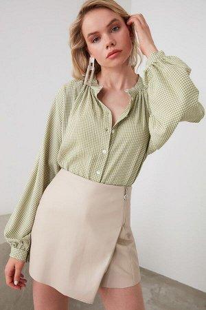 Pубашка %70 Polyester %30 Viskon