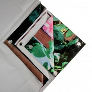 Фотобаннер, 250 ? 150 см, с фотопечатью, люверсы шаг 1 м, «Полоса»