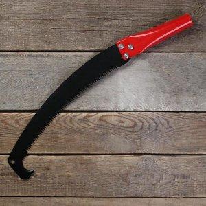 Ножовка садовая, 280 мм, с крюком, для высотореза, под черенок, d = 30 мм