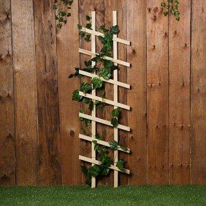 Шпалера, 140 ? 40 ? 2,5 см, дерево, «Диагональ»