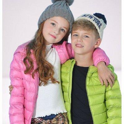 Для всей семьи. Любимые ультралегкие куртки, жилеты и пальто — Детские ультралегкие ЖИЛЕТЫ, КУРТКИ и ПАЛЬТО — Верхняя одежда