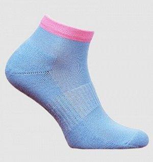 Носки женские полумахра голубой