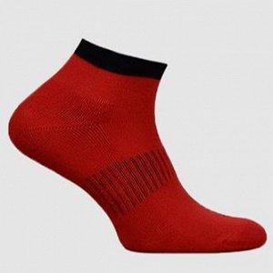 Носки женские полумахра красный