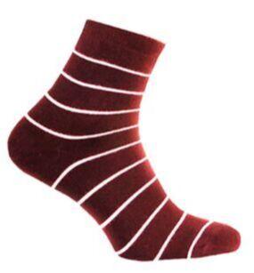 Носки женские махра бордовый