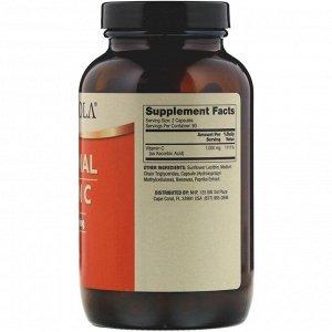 Dr. Mercola, Липосомальный витамин C, 1000 мг, 180 капсул