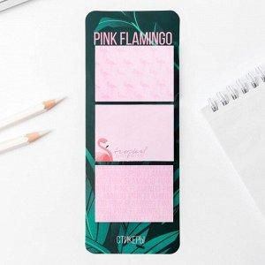 Стикеры на подложке Pink flamingo, 50 л