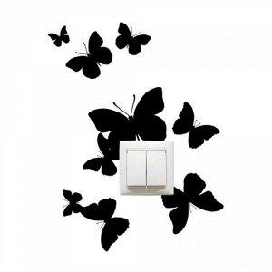 Бабочки на розетку