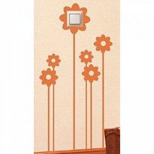 Цветы на розетку/выключатель 4