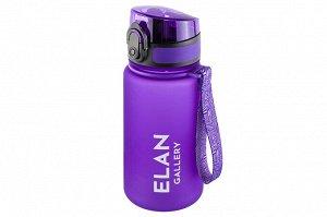 "Бутылка для воды 350 мл 6,8*6,8*17 см ""Style Matt"" лаванда"