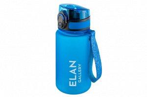 """Бутылка для воды 350 мл 6,8*6,8*17 см """"Style Matt"""" небесный"""