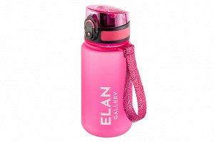 """Бутылка для воды 350 мл 6,8*6,8*17 см """"Style Matt"""" фуксия"""