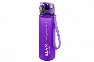"Бутылка для воды 500 мл 6,5*6,5*23 см ""Style Matt"" лаванда"