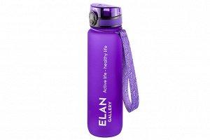 "Бутылка для воды 1000 мл 7,8*7,8*28,5 см ""Style Matt"" лаванда"