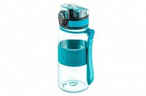 "Бутылка для воды 350 мл 6,5*6,5*18 см ""Water Balance"" бирюза"