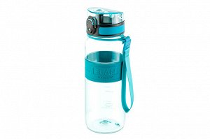 "Бутылка для воды 650 мл 7,6*7,6*22,5 см ""Water Balance"" бирюза"
