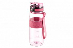 "Бутылка для воды 650 мл 7,6*7,6*22,5 см ""Water Balance"" коралл"