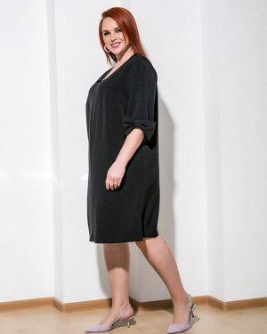 Платье 0207-1 черный