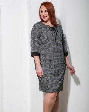 Платье 0045-7 серый