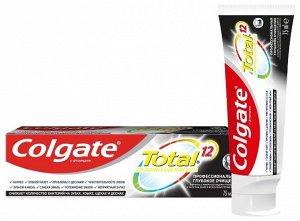 З.паста COLGATE 75мл Total 12 Глубокое Очищение