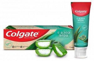 NEW З.паста COLGATE 75мл Алоэ Вера и зеленый чай