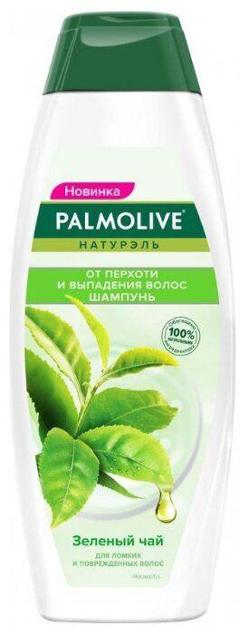 NEW Шампунь PALMOLIVE 380мл От перхоти и выпадения волос Зеленый чай