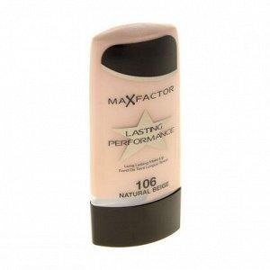 .Макс Фактор крем тональный LASTING 106 natur Beige