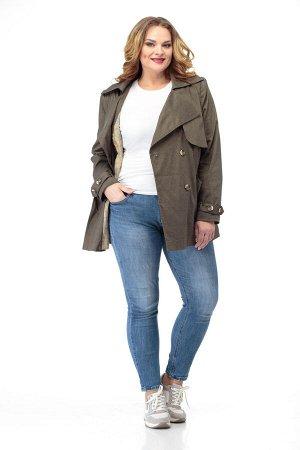 Куртка Куртка ANELLI 911  Состав: Вискоза-68%; ПЭ-28%; Спандекс-4%; Сезон: Осень-Зима Рост: 164  В базовом гардеробе тренч занимает особое место, ведь вещь эта из разряда вечных, утилитарных. Носится