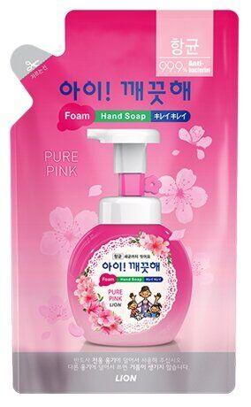 NEW Пена жид. д/рук LION Korea Ai-Kekute 200мл антибактериальная Цветочный букет (пакет)