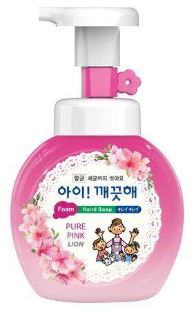 NEW Пена жид. д/рук LION Korea Ai-Kekute 250мл антибактериальная Цветочный букет (бутыль)