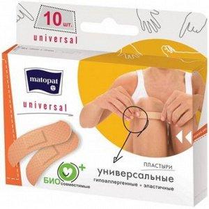 Пластырь Matopat Universal 19*76 10 шт.