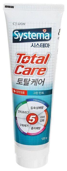 З.паста LION Korea SYSTEMA 120г Д/полной защиты Аромат зеленой мяты
