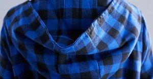 Тренч, синий