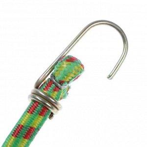 Резинка крепления TORSO 120 см, d 10 мм, металлические крючки, микс