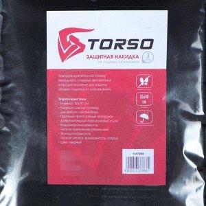 Накидка-незапинайка TORSO, 55 х 40 см, трехслойная, черная