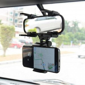 Держатель телефона раздвижной 50-90 мм, на зеркало