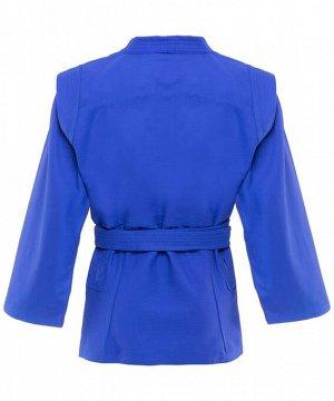 Куртка для самбо Green Hill Junior SCJ-2201, синий, р.3/160