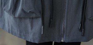 Тренч, серый