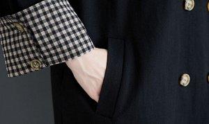 Тренч Ткань: полиэстер, хлопок грудь 132 см, длина 110 см, рукав 51 см, плечи 61 см
