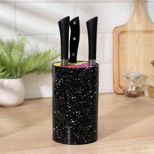 Подставка для ножей «Оттенок», 11?11?18 см