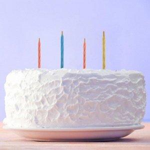 Свечи незадуваемые в торт «Магия мечты». 6 х 0.5 см
