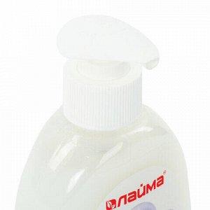 """Мыло-крем жидкое 300 мл, ЛАЙМА """"Жемчужное"""", с антибактериальным эффектом, дозатор, 603087"""