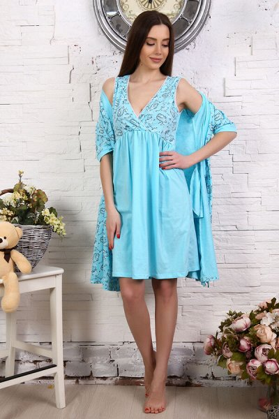 Натали.Трикотаж для всей семьи, домашний текстиль,носки. — Для беременных и кормящих — Повседневные платья