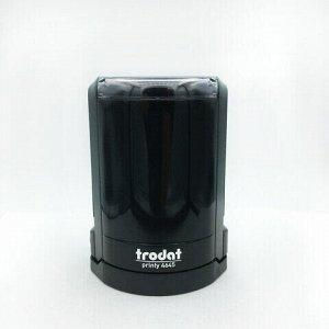 Оснастка для печатей, оттиск D=45 мм, синий, TRODAT 46045/4645, подушка в комплекте