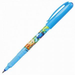 """Ручка-роллер СИНЯЯ CENTROPEN """"Tornado Boom"""", корпус с печатью, 0,5 мм, линия 0,3 мм, 2675, 3 2675 1005"""
