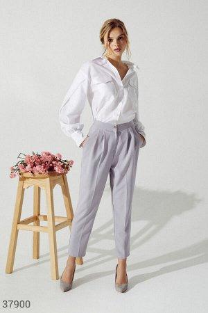 Классические серые брюки