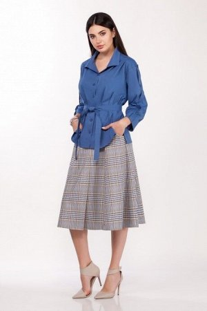 Женский комплект с юбкой