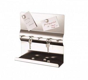 AXENTIA Ключница 5 крючков, с магнитной доской 116736