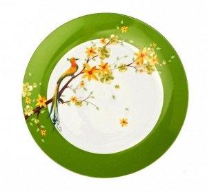 """PARADISE BIRD"" Тарелка обеденная 24,5см DM9000"