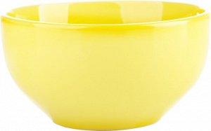 """Yellow Dishes"" Салатник 14см. 430мл цв. желтый TC13006140-B ВЭД"