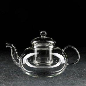Чайник заварочный со стеклянным ситом «Валенсия», 1,2 л